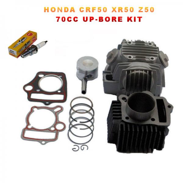 Honda CRF50 XR50 Z50 72cc Big-Bore Piston Cylinder Head Kit