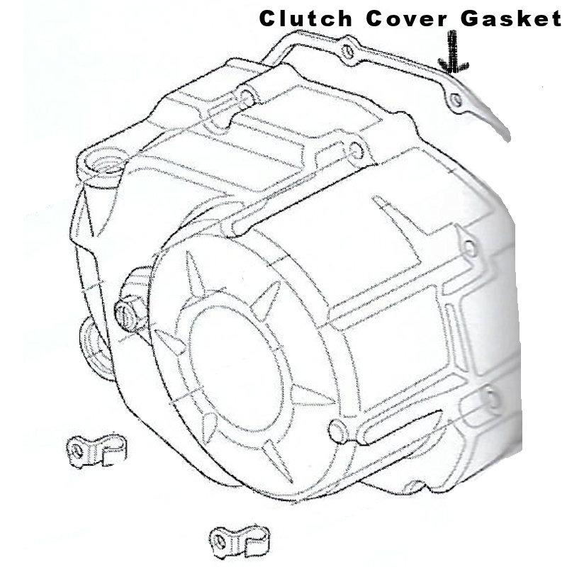 Honda NBC110 Cam Chain Clutch Cover Gasket