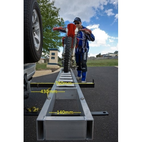 Mo-Tow Motorcycle Carrier