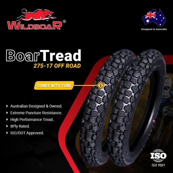Wild Boar Boar Tread Motorcycle Tyre